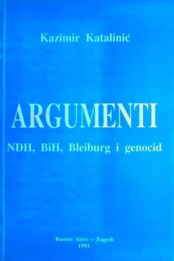 Katalinić: Argumenti: NDH, BiH, Bleiburg i genocid
