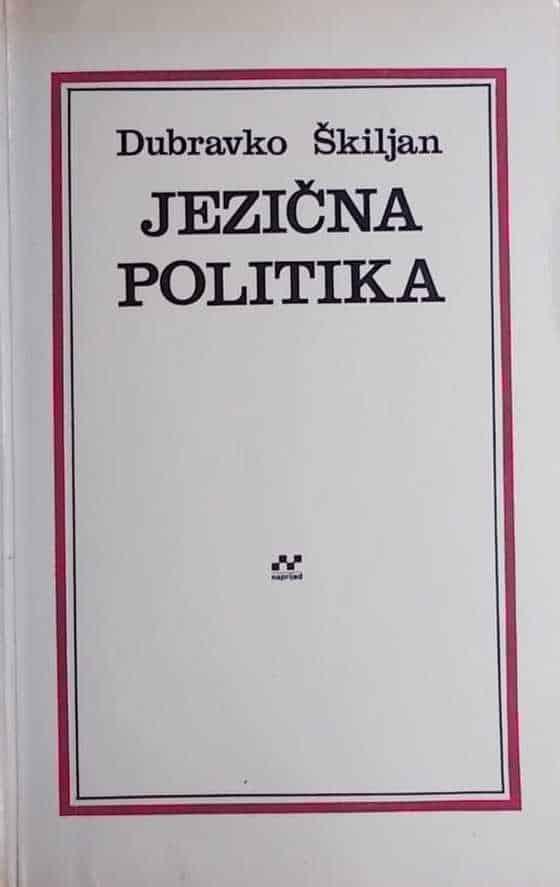 Škiljan: Jezična politika