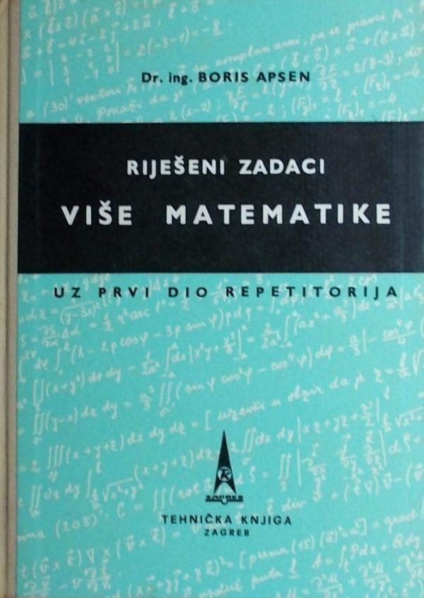 Apsen: Riješeni zadaci više matematike 1
