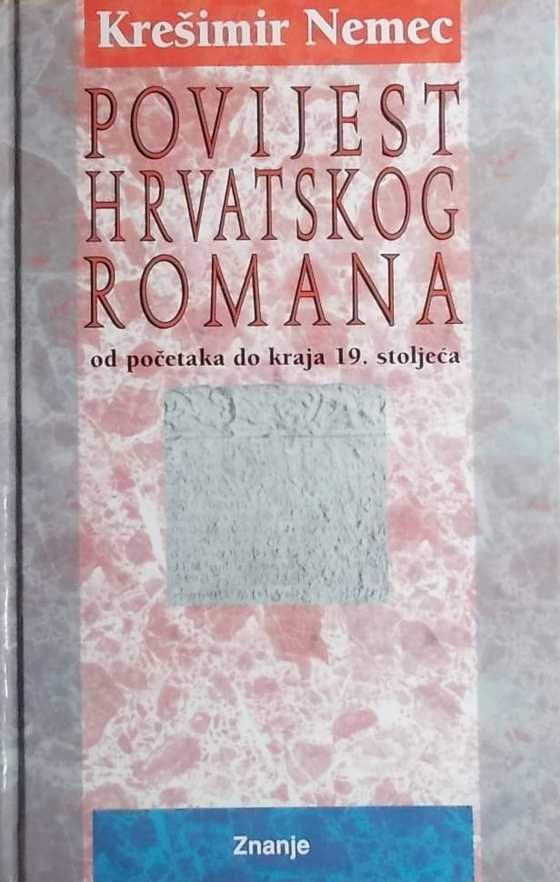 Nemec-Povijest hrvatskog romana