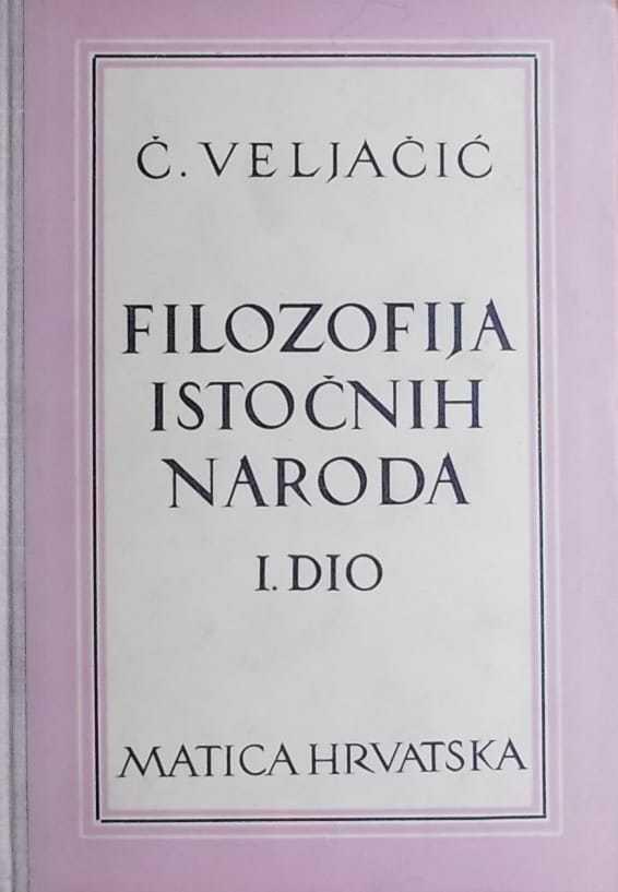 Veljačić-Filozofija istočnih naroda