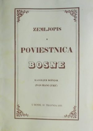 Bošnjak: Zemljopis i poviestnica Bosne