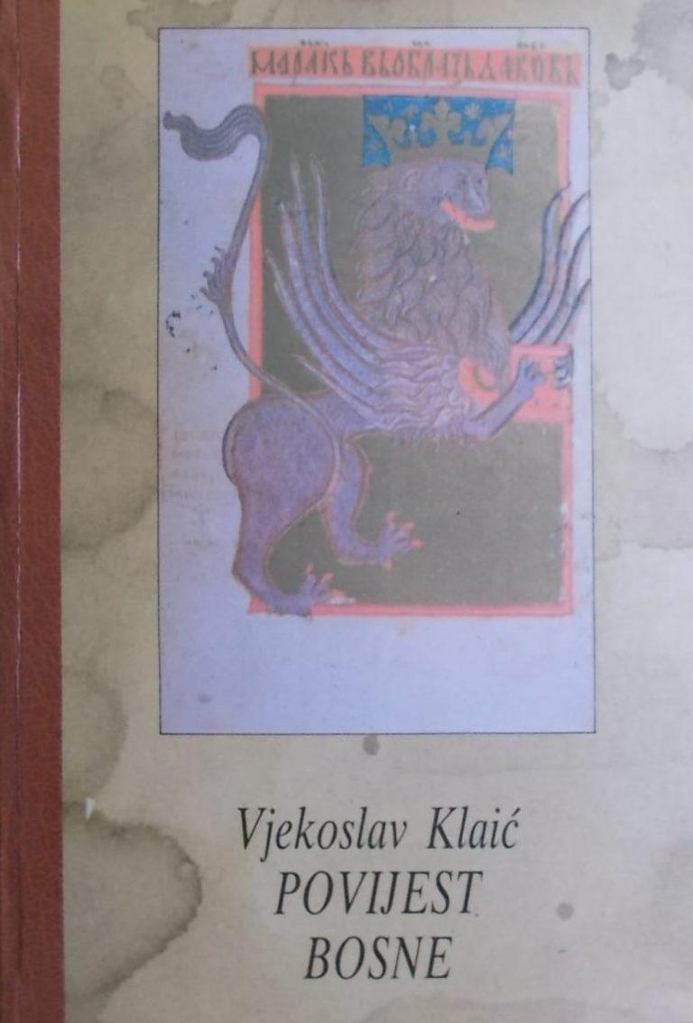 Klaić-Povijest Bosne