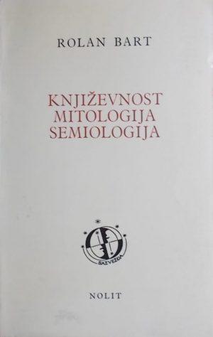 Bart-Književnost mitologija semiologija