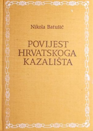 Batušić: Povijest hrvatskoga kazališta