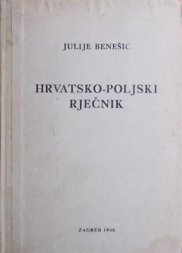 Benešić-Hrvatsko-poljski rječnik