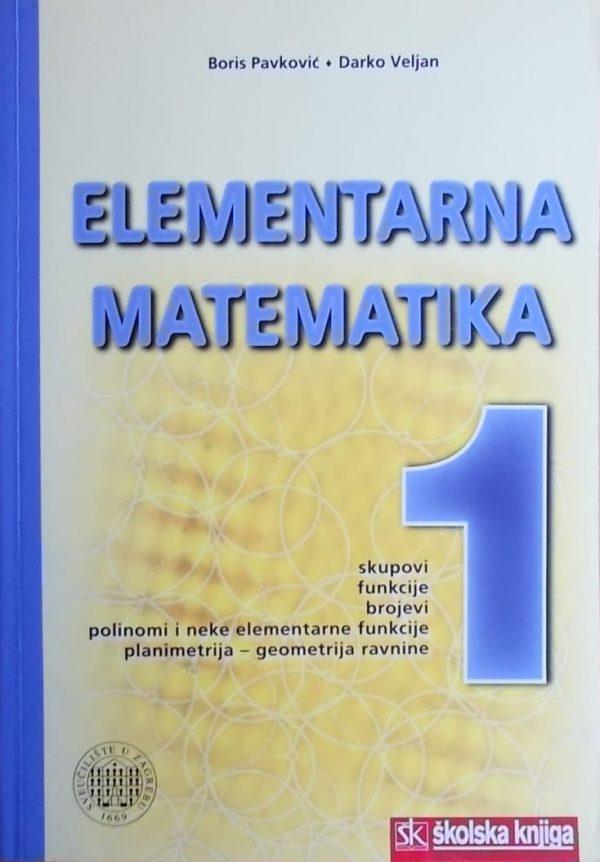 Pavković-Elementarna matematika 1