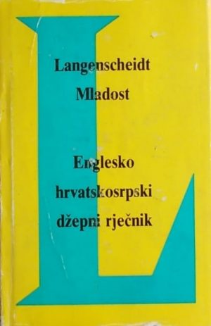 Englesko-hrvatskosrpski džepni rječnik