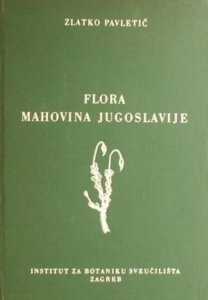 Pavletić-Flora mahovina Jugoslavije
