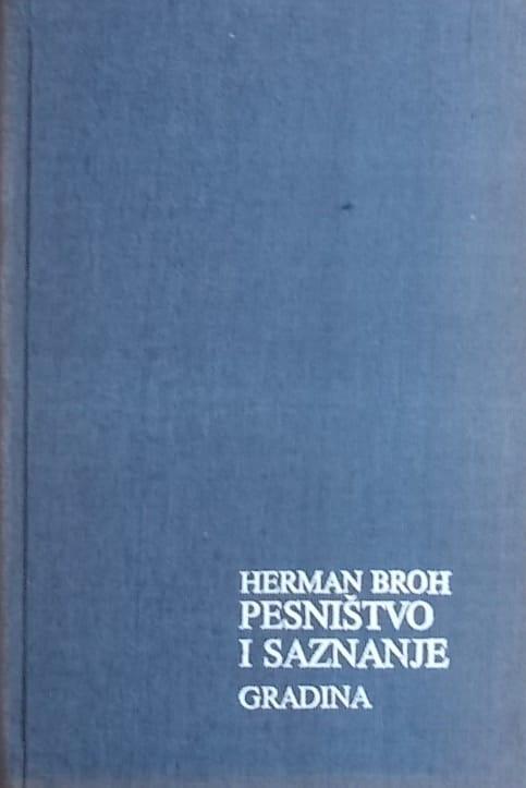 Broh-Pesništvo i saznanje