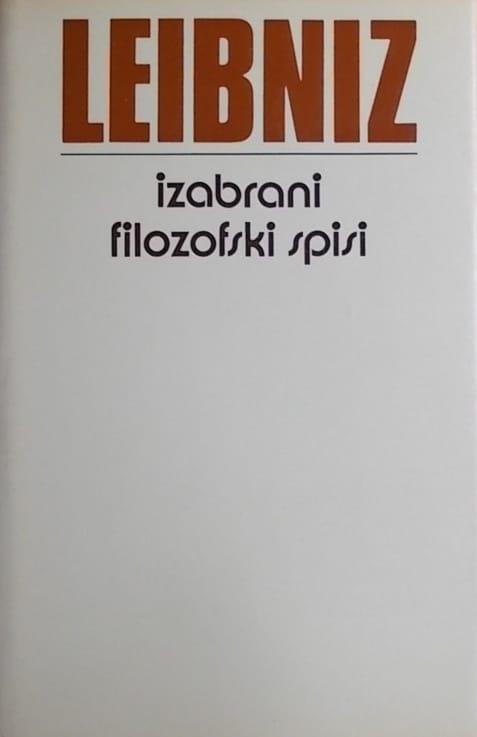 Leibniz-Izabrani filozofski spisi
