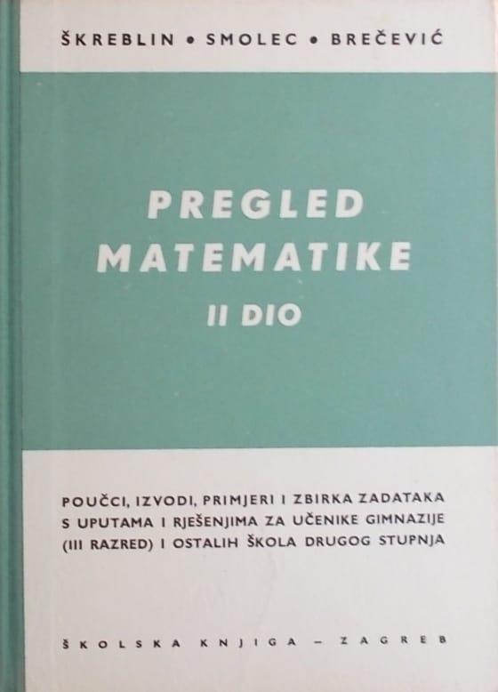 Škreblin-Pregled matematike 2