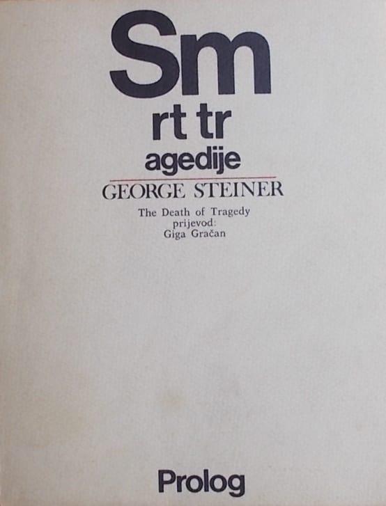 Steiner-Smrt tragedije