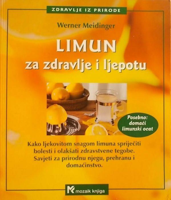 Meidinger: Limun za zdravlje i ljepotu