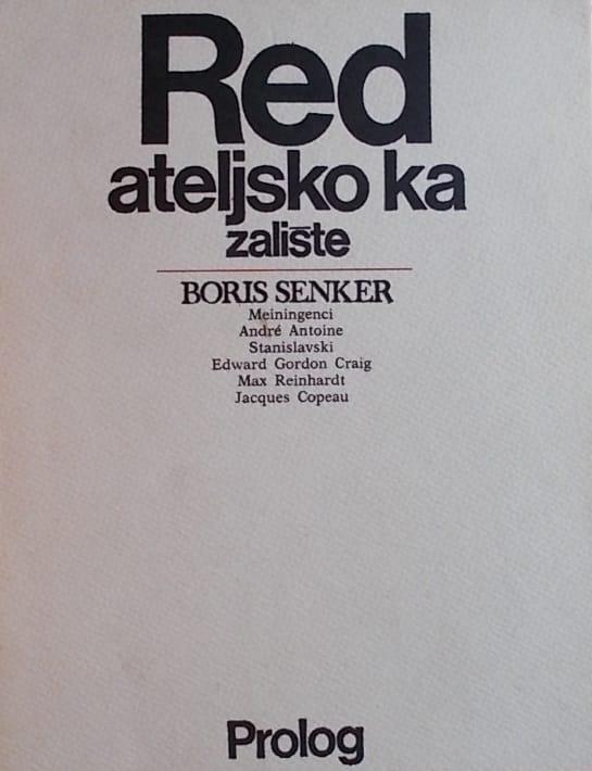 Senker: Redateljsko kazalište