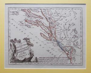 der sudliche theil des koenigreichs dalmatien mit der republik ragusa