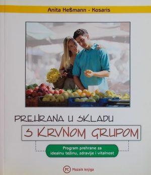 Hebman-Kosaris-Prehrana u skladu s krvnom grupom