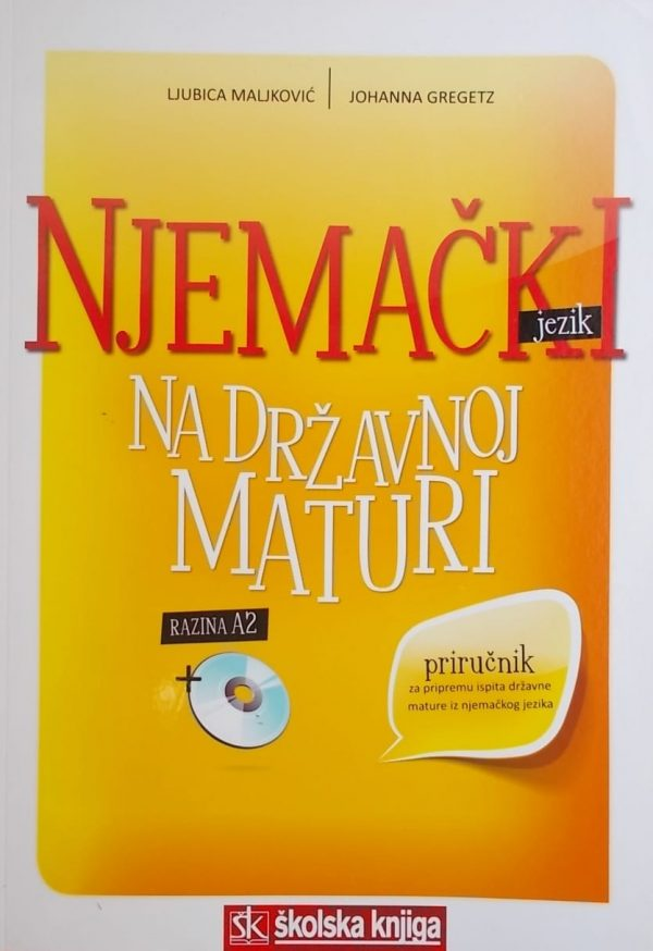 Maljković-Njemački na državnoj maturi