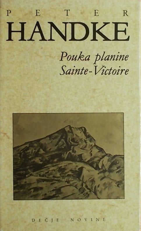 Handke: Pouka planine Sainte-Victoire