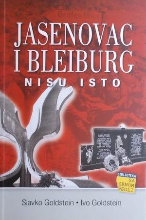 Goldstein: Jasenovac i Bleiburg nisu isto