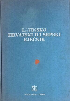 Žepić-Latinsko hrvatski ili srpski rječnik