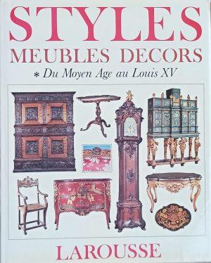 Styles meubles, decors 1