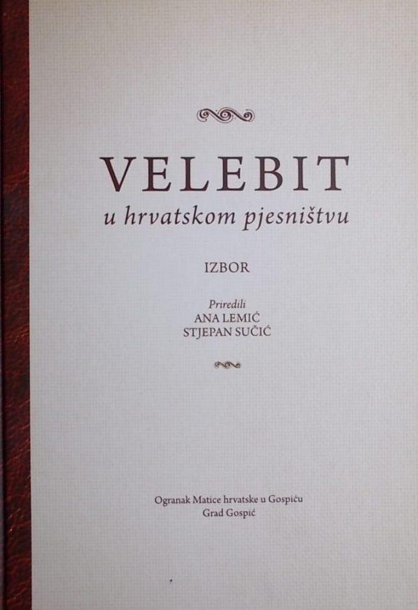 Velebit u hrvatskom pjesništvu
