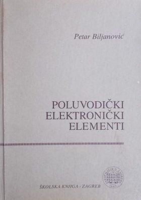 Biljanović: Poluvodički elektronički elementi