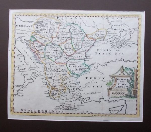 Hungary with Turky in Europe
