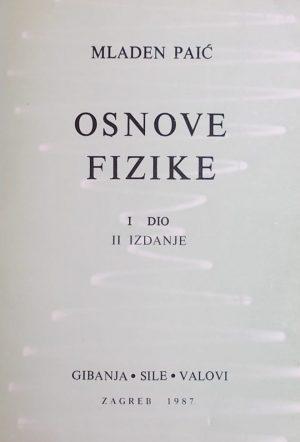 Paić-Osnove fizike 1