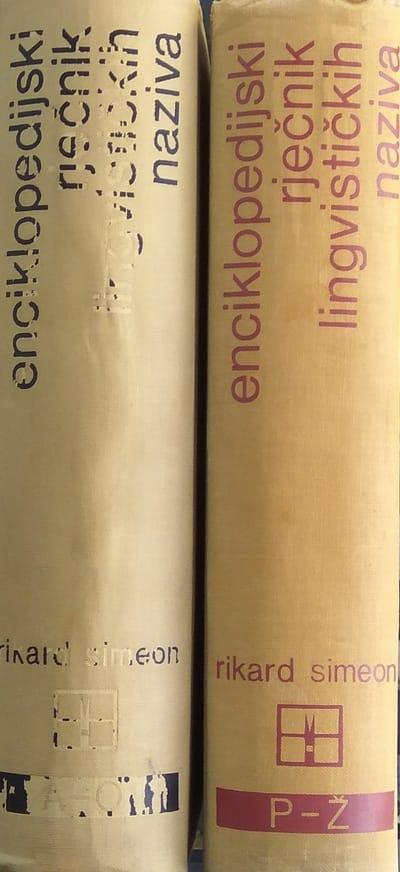 Simeon: Enciklopedijski rječnik lingvističkih naziva 1-2 (1)