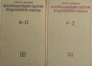 Simeon: Enciklopedijski rječnik lingvističkih naziva 1-2