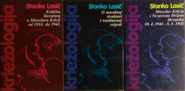 Lasić: Krležologija ili povijest kritičke misli o Miroslavu Krleži 1-3