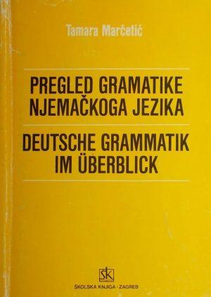 Marčetić-Pregled gramatike njemačkog jezika