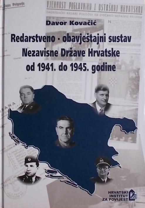 Kovačić-Redarstveno-obavještajni sustav NDH