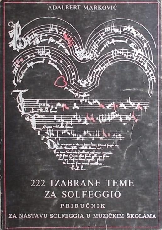 Marković-222 izabrane teme za solfeggio