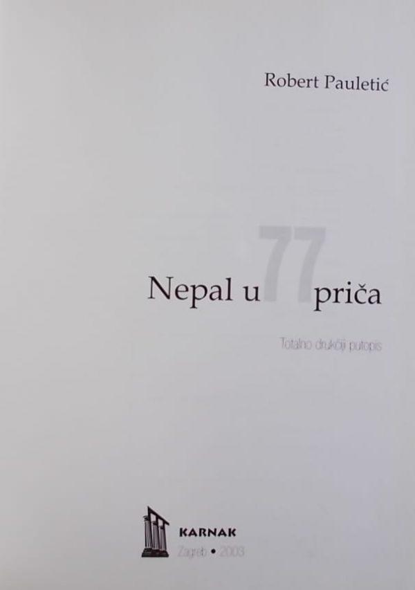 Pauletić: Nepal u 77 priča