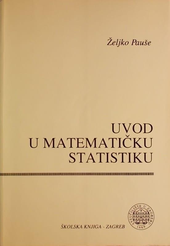 Pauše: Uvod u matematičku statistiku