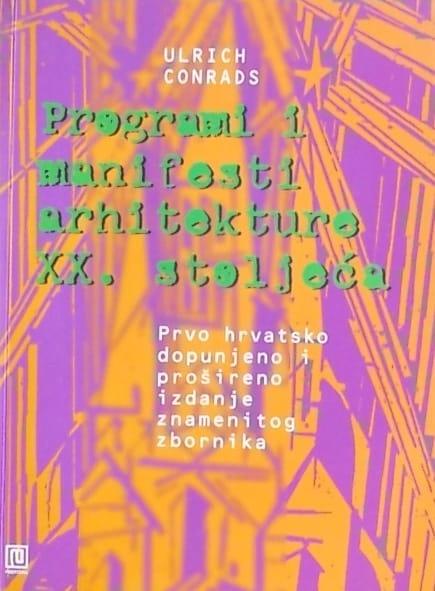 Conrads-Programi i manifesti arhitekture xx stoljeća