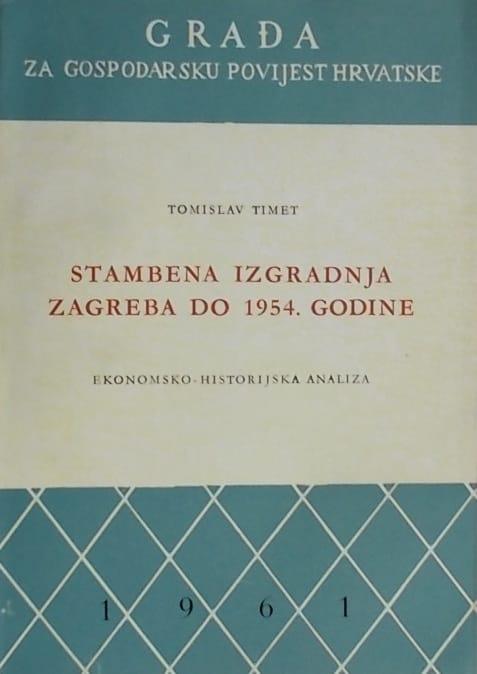 Timet: Stambena izgradnja Zagreba do 1954. godine