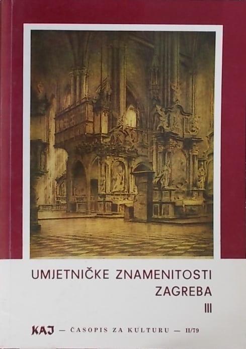 Umjetničke znamenitosti Zagreba