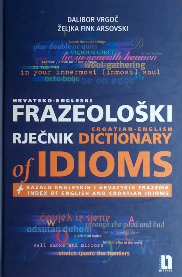 Vrgoč, Arsovski: Hrvatsko-engleski frazeološki rječnik