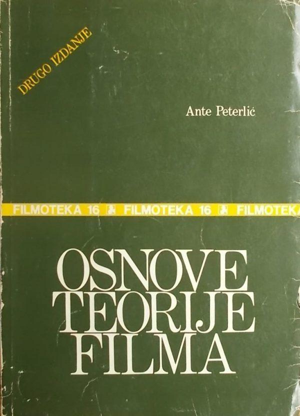 Peterlić: Osnove teorije filma