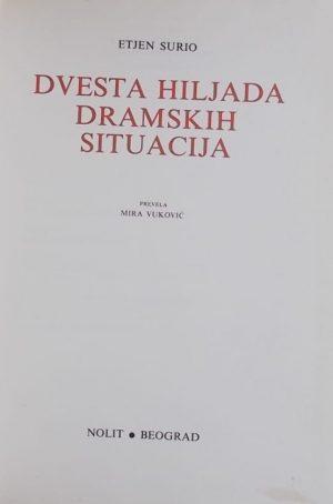 Surio-Dvesta hiljada dramskih situacija