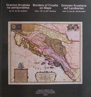 Granice Hrvatske na zemljovidima