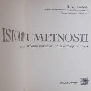 Janson: Istorija umetnosti