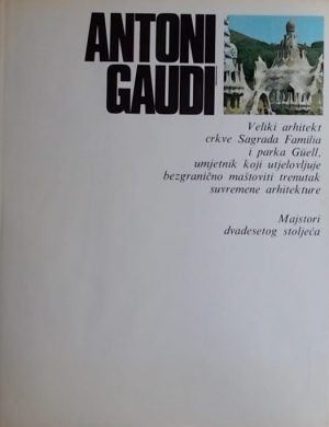 Vinca Masini-Antoni Gaudi