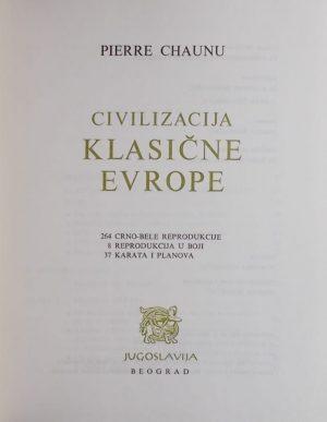 Chaunu-Civilizacija klasične Europe