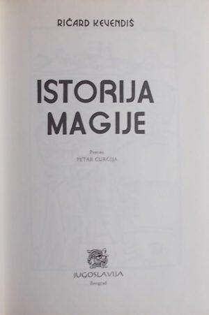 Kevendiš-Istorija magije