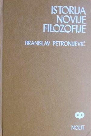 Petronijević: Istorija novije filozofije